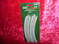 """Kato 20505 N UNITRACK CURVED VIADUCT R9 3/4"""" 45 Degree Track New z"""