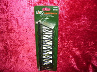 "Kato 20434 N UNITRACK SINGLE TRUSS BRIDGE 9 3/4"" BLACK Train New z"