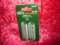 """Kato 20030 N UNITRACK 2-1/2"""" STRAIGHT TRACK (2) S64 z"""