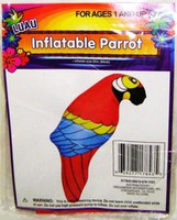 INFLATABLE PARROT DECORATION Pirates Luau Party Decor z