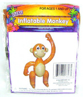 INFLATABLE MONKEY Luau Party Decoration Pirate Parties Pirates Decor bcg