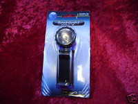 FLASHLIGHT SWIVEL HEAD & CLIP Handy Tool Hobby New z