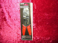 CRIMPING TOOL Heavy Duty Wire & Bolt Cutter Stripper Electrical New z