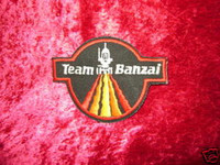 Buckaroo Banzai PATCH TEAM BANZAI Sci-Fi Cool Movie z
