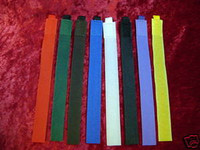 CABLE TIES 8 Pc Self Attaching NYLON VELCRO Color Coded Colored New z