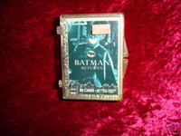 BATMAN RETURNS TRADING CARDS Complete Set Near Mint 1
