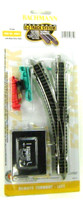 Bachmann 44861 N E-Z TRACK REMOTE TURNOUT LEFT Gray Train Switch NS EZ bcg