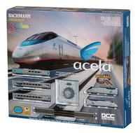 Bachmann 24130 N ACELA EXPRESS TRAIN SET DCC Amtrak z
