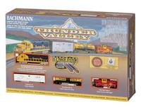 Bachmann 24013 N THUNDER VALLEY TRAIN SET Santa Fe z