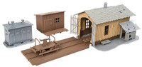 Walthers Trainline 11634 HO TRACKSIDE TOOL BUILDINGS KIT 931-909 Building Model bcg