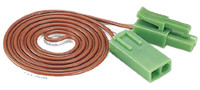 "Kato 24826 N HO UNITRACK AC EXTENSION CORD 35"" Wire Trains Accessory bcg"