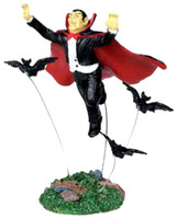 Lemax 02786 FLYING VAMPIRE Spooky Town Figurine Halloween Decor Figure Retired bcg
