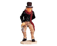 Lemax 92297 THE SCROOGE Figurine Christmas Village O G Scale Figure bcg