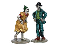 Lemax 62422 SKELETON JIG Spooky Town Figurine Set of 2 Halloween Decor G Scale Figure bcg