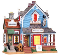 Lemax 85705 ROBIN'S ANTIQUE SHOP Retired Lighted Building Christmas Village S Scale bcg