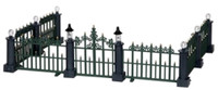 Lemax 24534 CLASSIC VICTORIAN FENCE Set of 7 Christmas Village Decor Accessory bcg