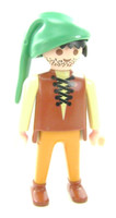 Playmobil 3666 Castle Parts FIGURE PAUPER CS NBC Poor Man Guy Medieval Knights bcg