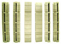 Playmobil 3666 Castle Parts WALL CONNECTORS 6 ASSORTED Kings Medieval Knights bcg