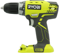 Ryobi P208B 18V 1/2 In. 2-SPEED DRILL-DRIVER One+ Lithium Ion Tool Only P208 bcg