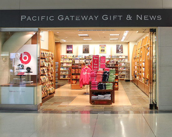 WingBossTF Travel Apparel Is Now Available At San Francisco International Airport (KSFO) In The Pacific Gateway News & Gift Stores.