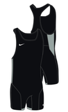 Men's Nike Weightlifting Singlet - Black/Pewter