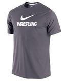 Nike DFC Dark Gray Wrestling Tee