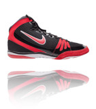 Nike Freek Black / Red / White Wrestling Shoe