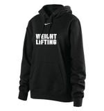 Nike Women's Club Fleece Weightlifting Hoody - Black