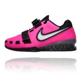 Nike Romaleos 2 Weightlifting Shoes - Pink Blast / White-Black Cool Grey