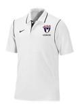 Nike Dri Fit Polo Coach USAW White