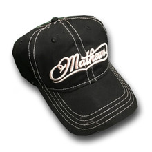 Mathews Black-White Cap