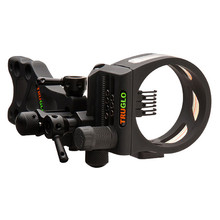 TruGlo TSX Pro Series MICRO ADJUST 7 Pin Black Sight