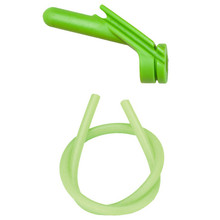 "Nitro Peep Sight 1/4"" With Premium Silicone Tubing - Green"