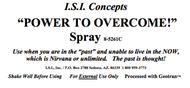 Power to Overcome!  Spray 8 oz