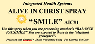Alive in Christ SMILE Spray 8 oz