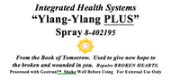 Ylang-Ylang PLUS Spray 8 oz
