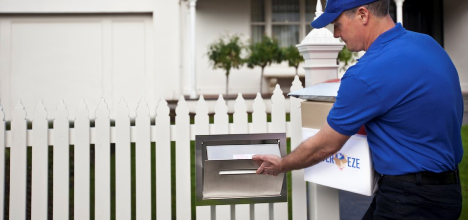 Large letterbox stainless