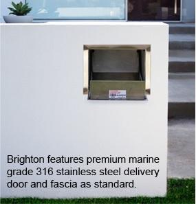Marine grade 316 stainless steel letterbox parcel box brick in.jpg