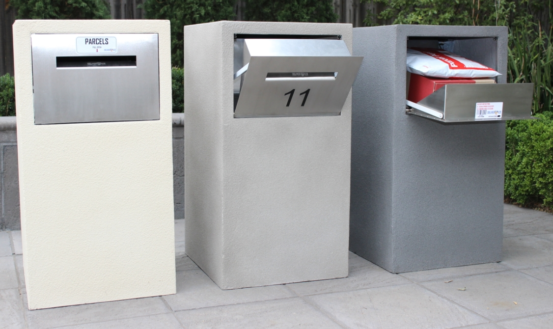 All new Mosman Stainless Steel Parcel Letterbox Deliver