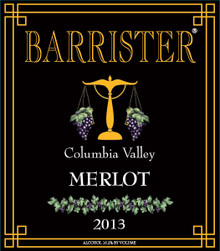 2013 Merlot, Columbia Valley