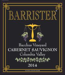 2014 Cabernet Sauvignon, Bacchus Vineyard
