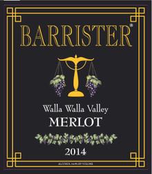 2014 Merlot, Walla Walla Valley