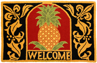 Welcome Pineapple Small Mat