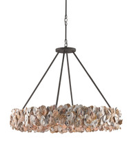 Oyster Shell Circle Chandelier