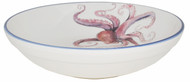 Octopus Large Round Serving Bowl