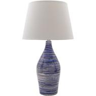 Eva Denim Blue Coastal Lamp