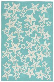 Starfish Aqua Rug