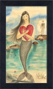 A Sailor's Valentine - Mermaid Art