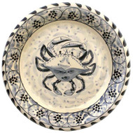 Blue Crab Dinner Plates - set of 4
