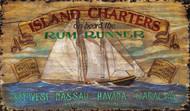 Island Charters Beach House Sign
